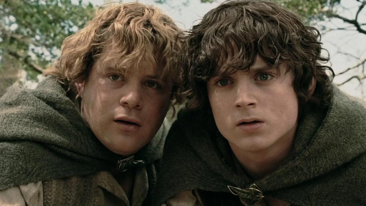 Herr der Ringe - Frodo und Sam